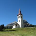 Kapelle von dem Maloja-Paß