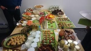 Essen nach dem Vortrag