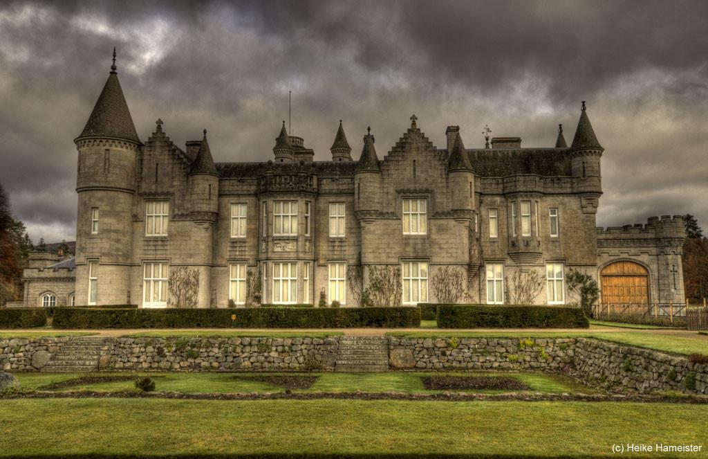 Balmoral Castle Royal Deeside HDR Images High Dynamic Range