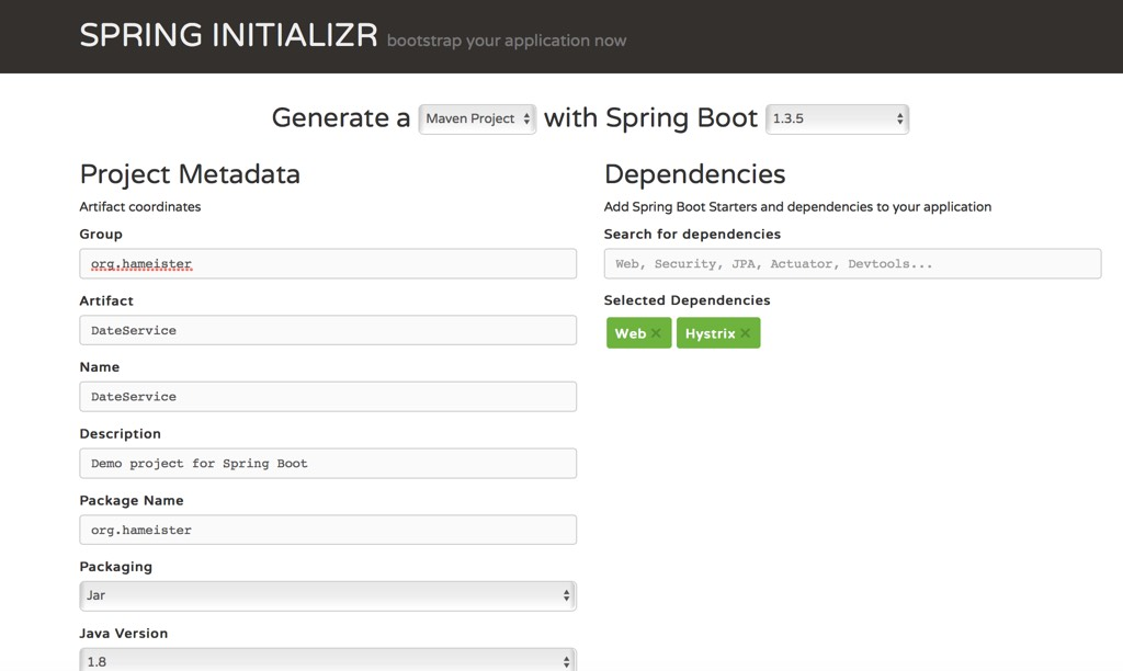 Spring Boot und Hystrix