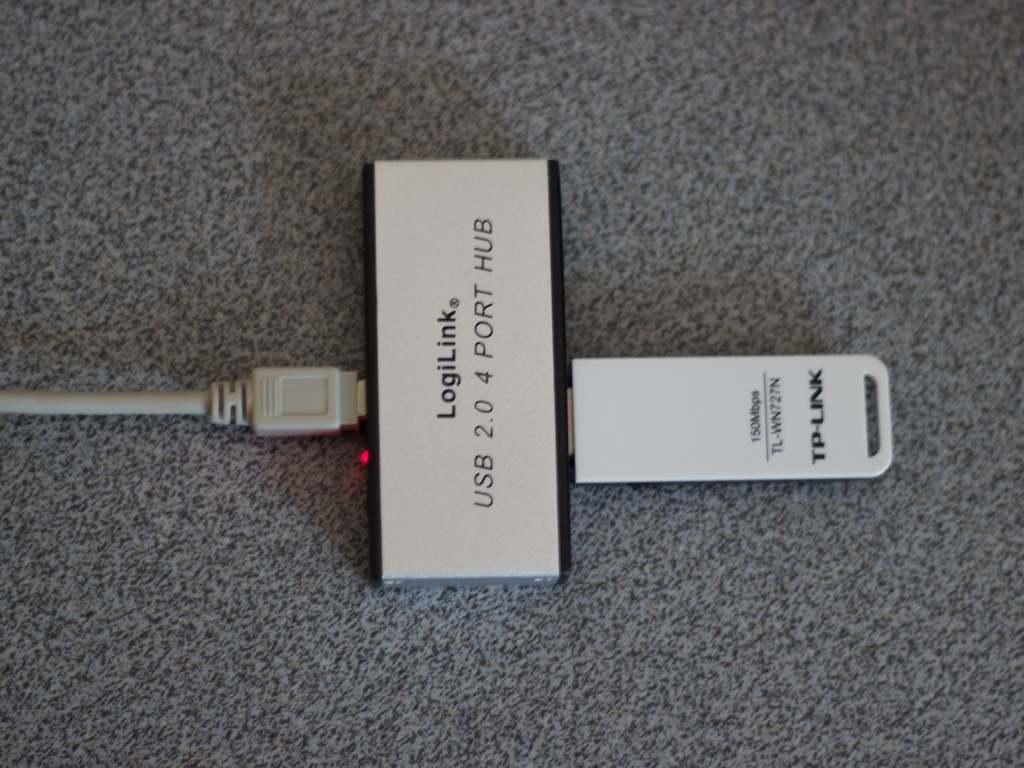 RaspberryPi - Einrichten eines WLAN-Sticks